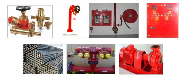 Fire Hydrant System, Fire Fighting Solution, Electronic Security